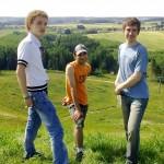 Виталик, Андрей и Сева